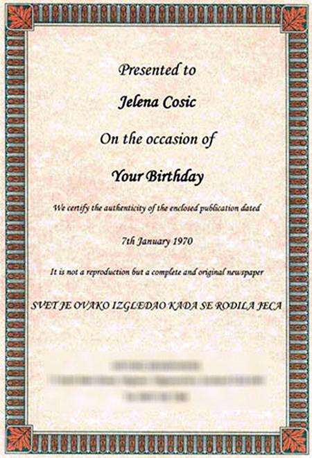 Poklon za rođendan